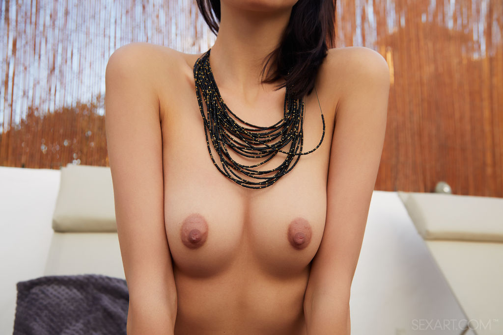 Best marvelous model Sade Mare in naked sessions