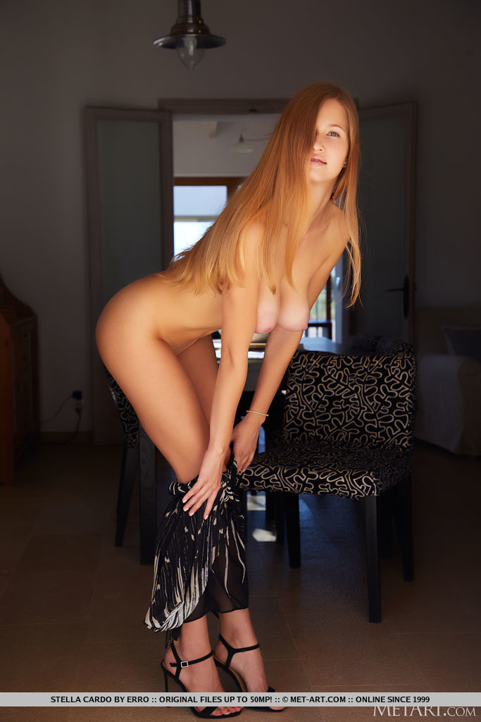 High quality bare-skinned shot