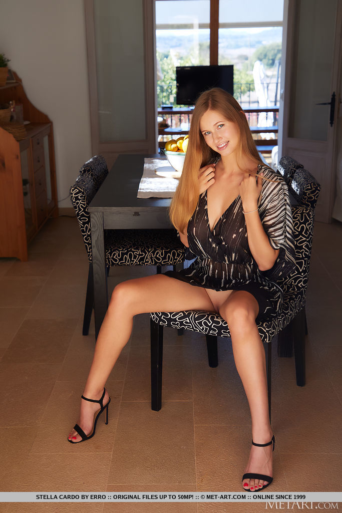 Stella Cardo in titillating photo sessions for gratuitous