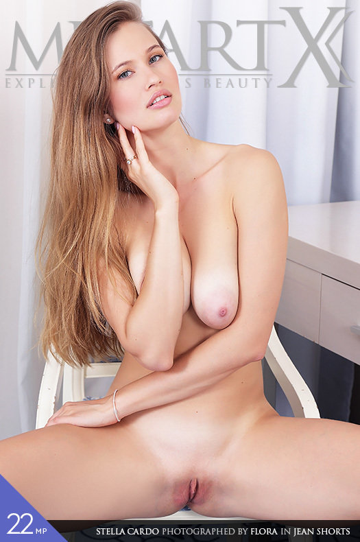 Magazine coverStella Cardo peeled big tits