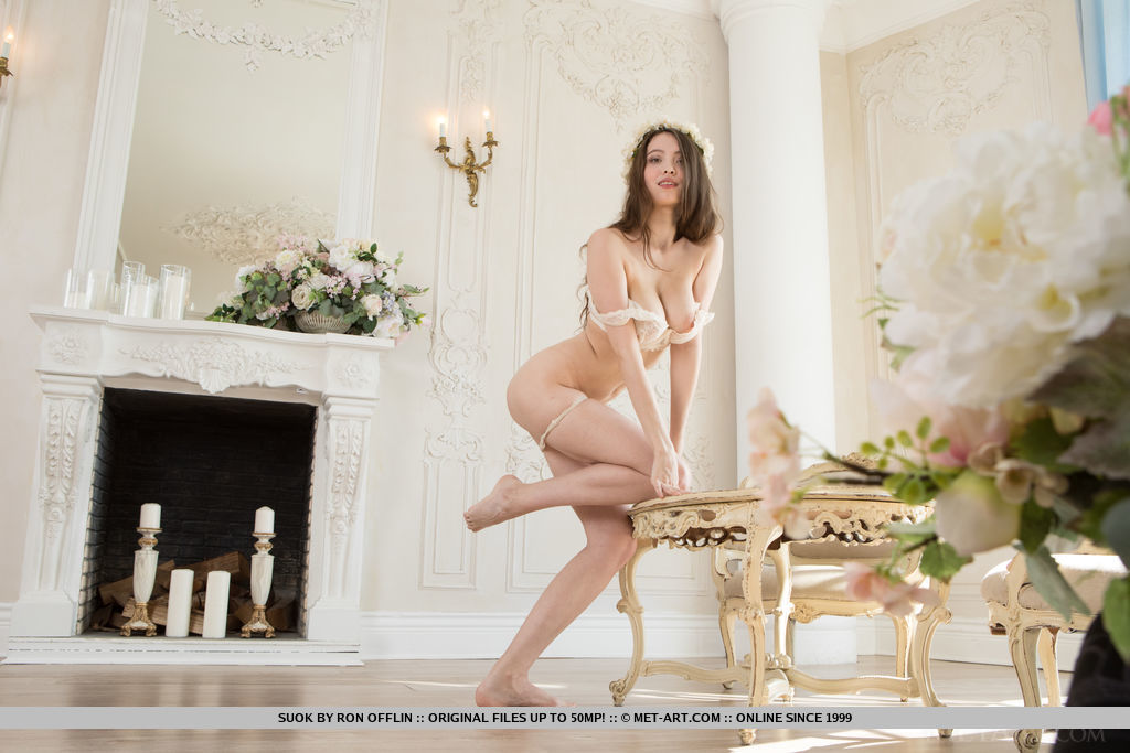 Presenting Suok MetArt is striking Suok