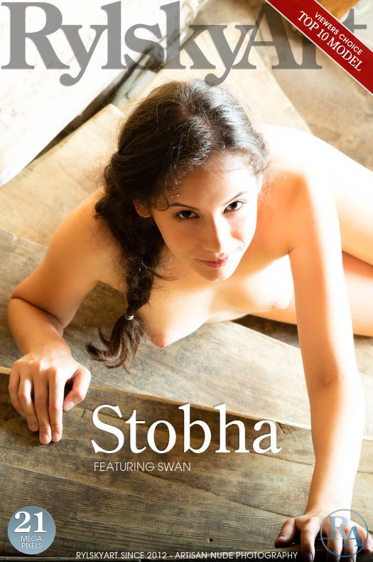 Magazine coverSwan medium breasts