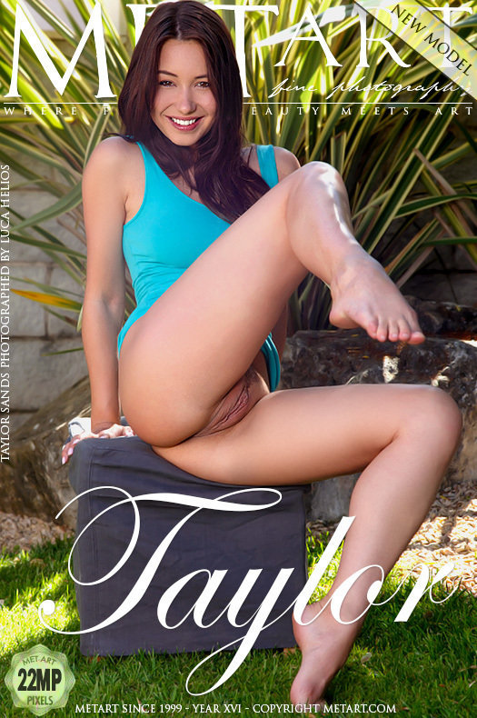 On the magazine cover of Presenting Taylor Sands MetArt is wonderful Taylor Sands