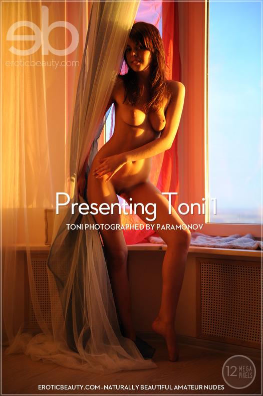 Magazine coverToni titillating large boobs