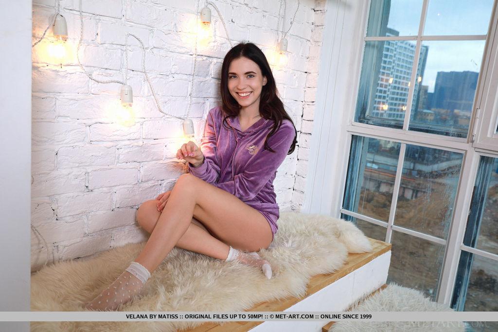 Lace Socks MetArt is lofty Velana