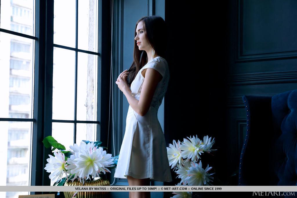 Best stupendous model Velana in skin sessions