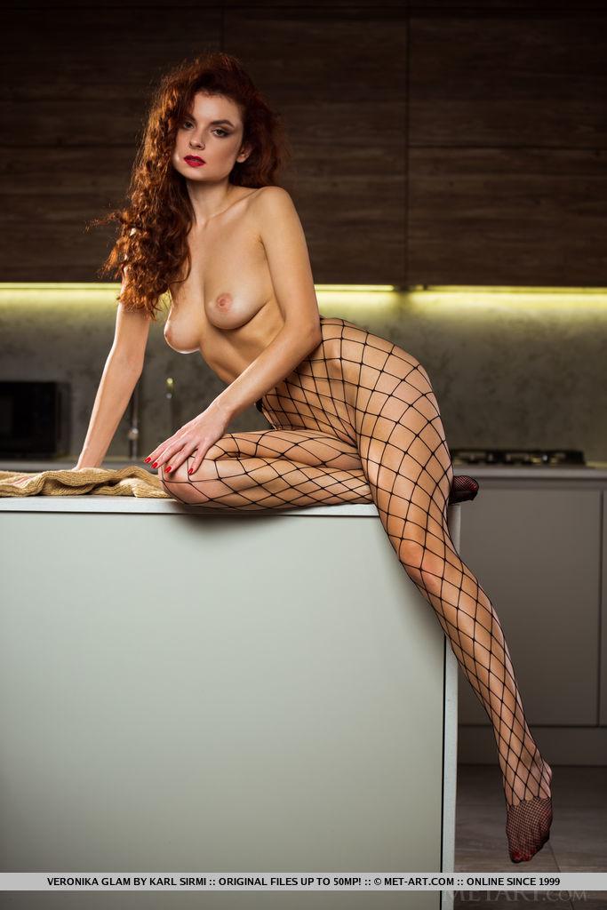Best surprising model Veronika Glam in unattired sessions