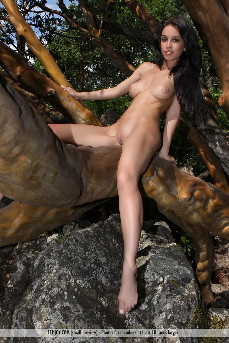 On the magazine cover of Wild Girl FemJoy is inspiring Vic E.