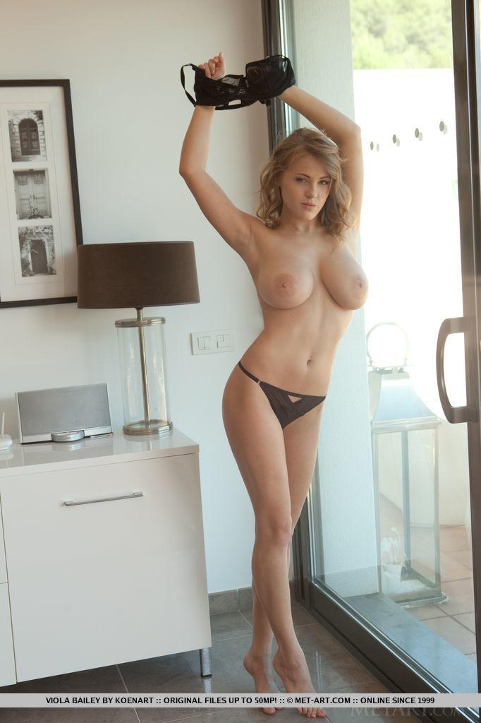 Viola Bailey in in one-s skin photo