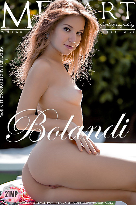 On the cover of Bolandi MetArt is celestial Yani A