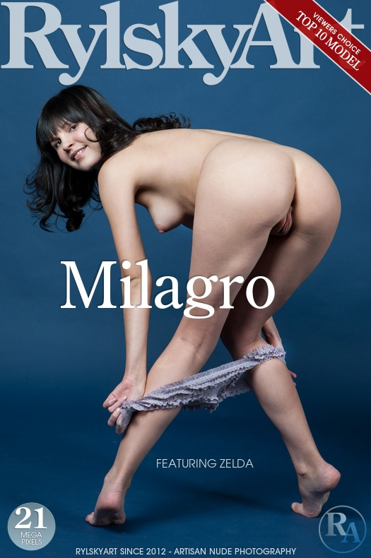 On the cover of Milagro Rylsky Art is lofty Zelda
