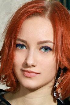 Art model Anastasia Azul