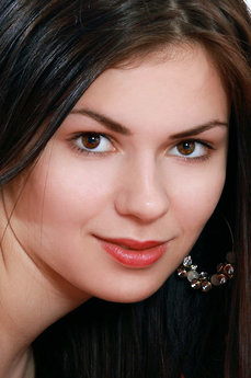 Art model Karolina Young