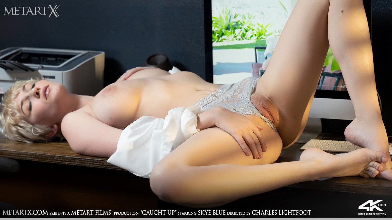 1080p Video Caught Up - Skye Blue MetArtX marvelous disrobed