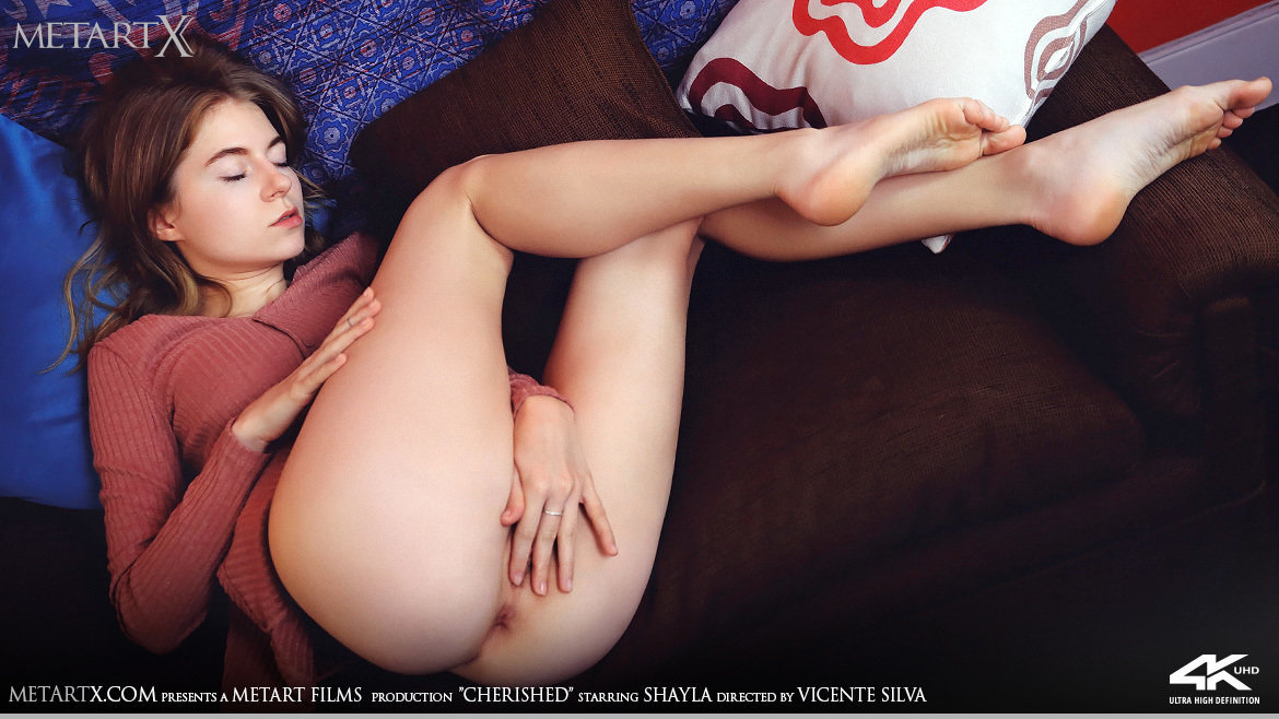 1080p Video Cherished - Shayla MetArtX heavenly inviting titillating small naturaltitties