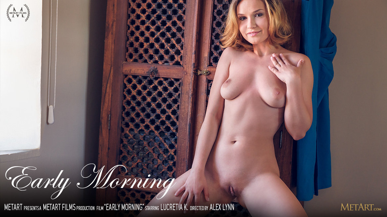 1080p Video Early Morning - Lucretia K MetArt in the altogether undraped medium boobs