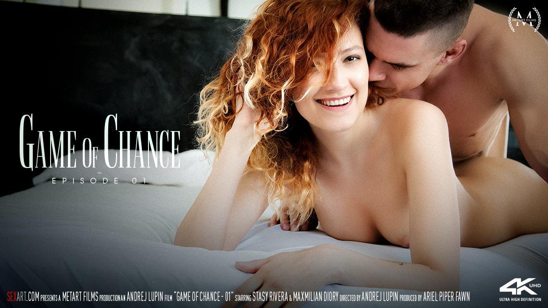 1080p Video Game Of Chance Episode 1 - Stasy Rivera & Maxmilian Dior SexArt amazing sensual