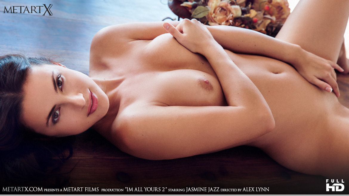 1080p Video I'm All Yours 2 - Jasmine Jazz MetArtX moving in the altogether stripped medium titties