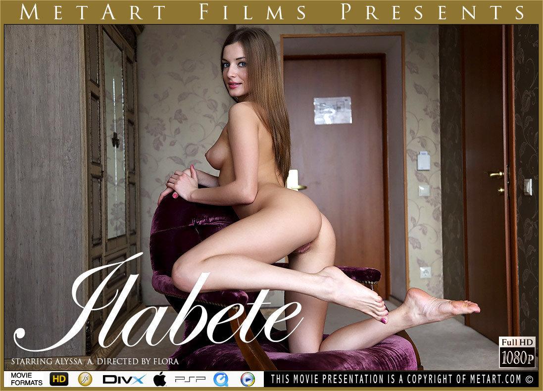 1080p Video Ilabete - Alyssa A MetArt marvelous disrobed stunning small naturalbreasts