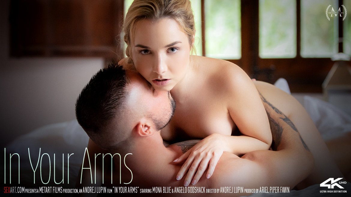 1080p Video In Your Arms - Mona Blue & Angelo Godshack SexArt spectacular sensual undraped