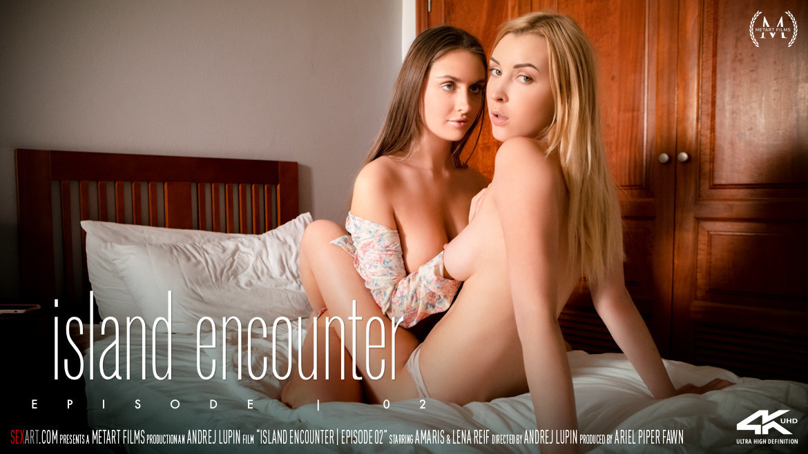 1080p Video Island Encounter Episode 2 - Amaris & Lena Reif SexArt extraordinary without a stitch