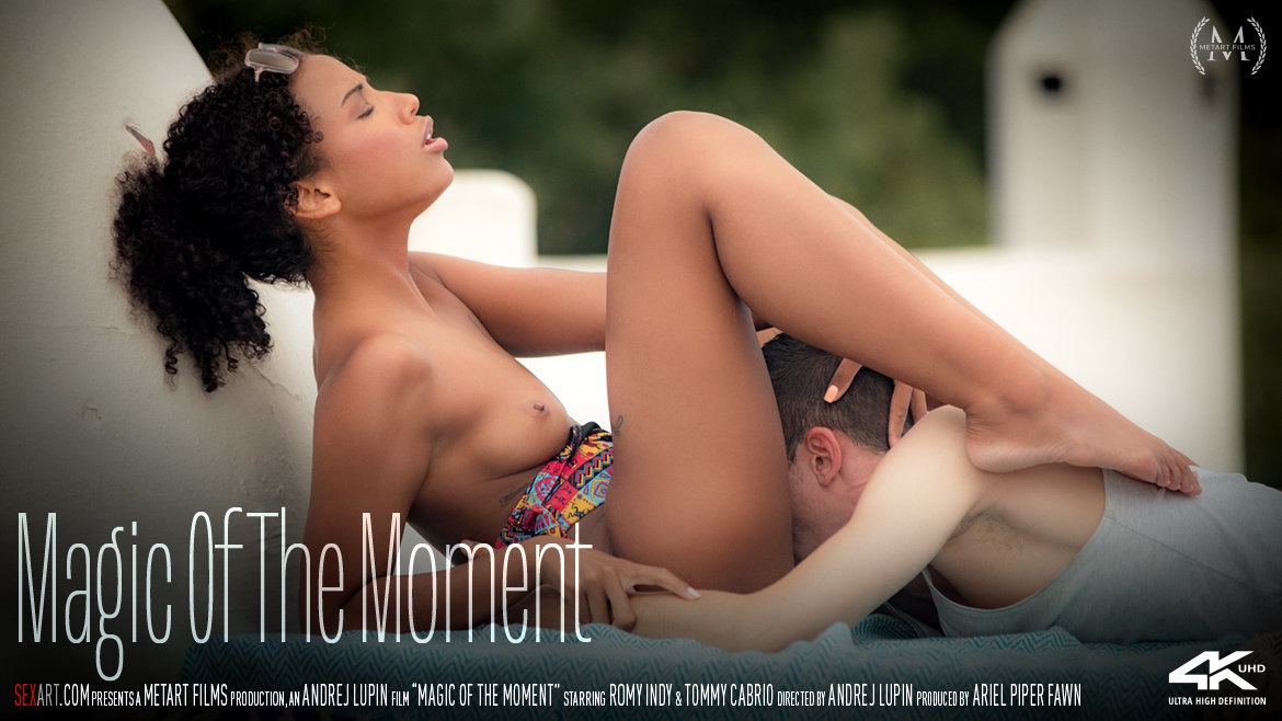 1080p Video Magic Of The Moment - Romy Indy & Tommy Cabrio SexArt fabulous bald lascivious