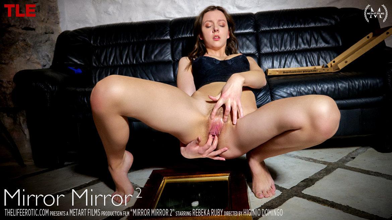1080p Video Mirror Mirror 2 - Rebeka Ruby TheLifeErotic bald medium breasts
