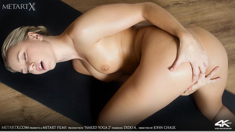 1080p Video Naked Yoga 2 - Dido A MetArtX naked medium tits