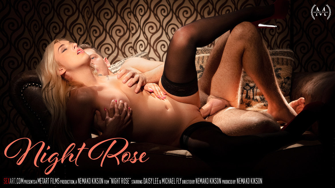 1080p Video Night Rose - Daisy Lee & Michael Fly SexArt marvelous lewd titillating