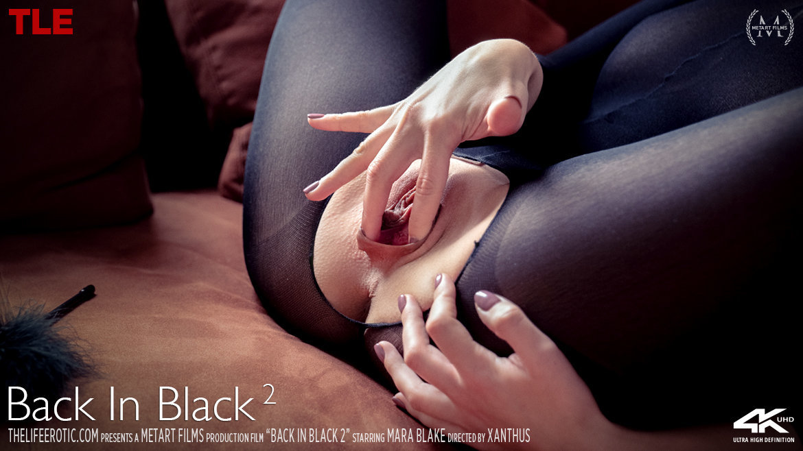 1080p Video Porn Back In Black 2 - Mara Blake TheLifeErotic au naturel