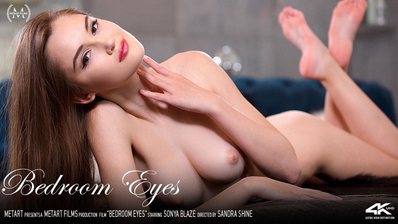 1080p Video Porn Bedroom Eyes - Sonya Blaze MetArt bare-skinned disrobed