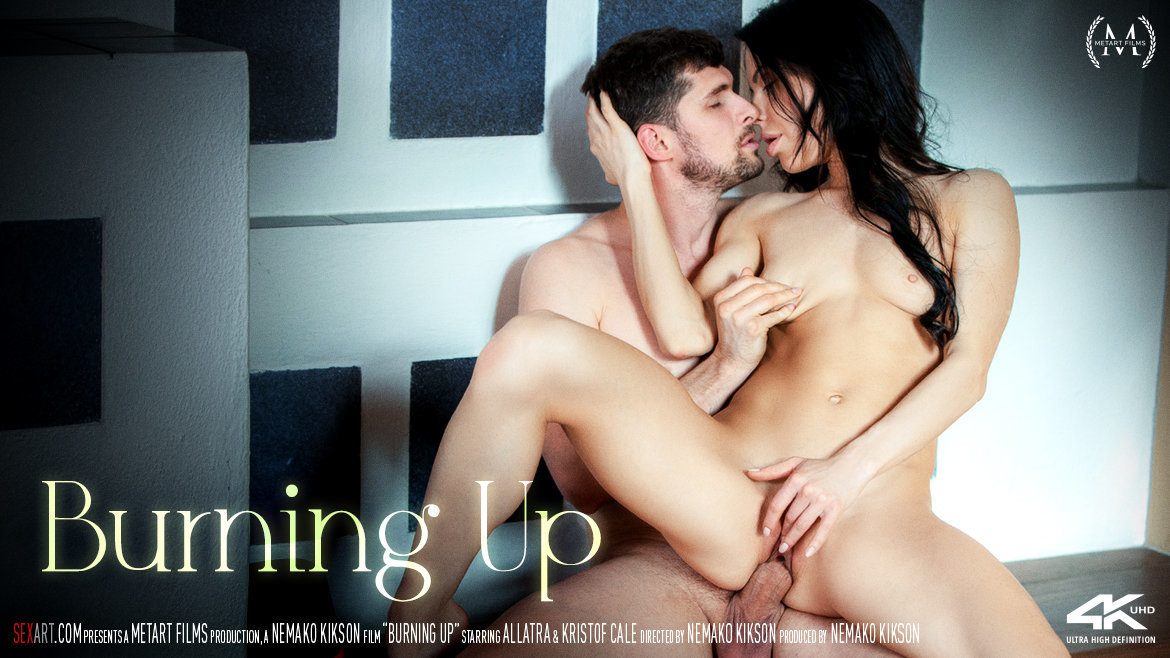 1080p Video Porn Burning Up - Allatra & Kristof Cale SexArt uncovered stark