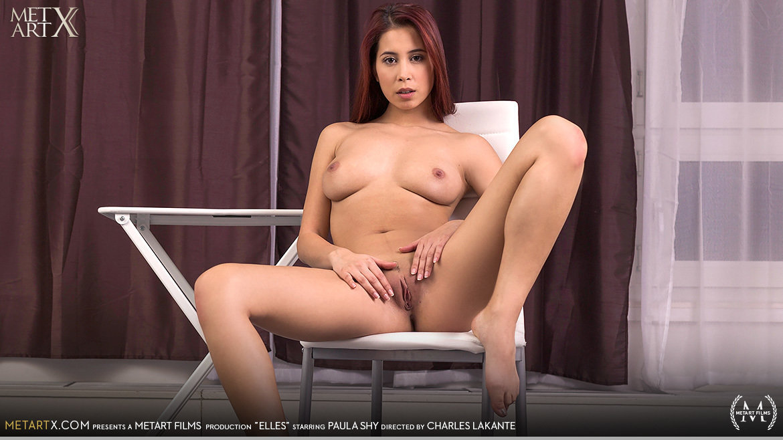 1080p Video Porn Elles - Paula Shy MetArtX bare-skinned medium natural titties