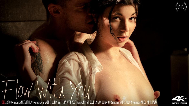 1080p Video Porn Flow With You - Nessie Blue & Maxmilian Dior SexArt au naturel