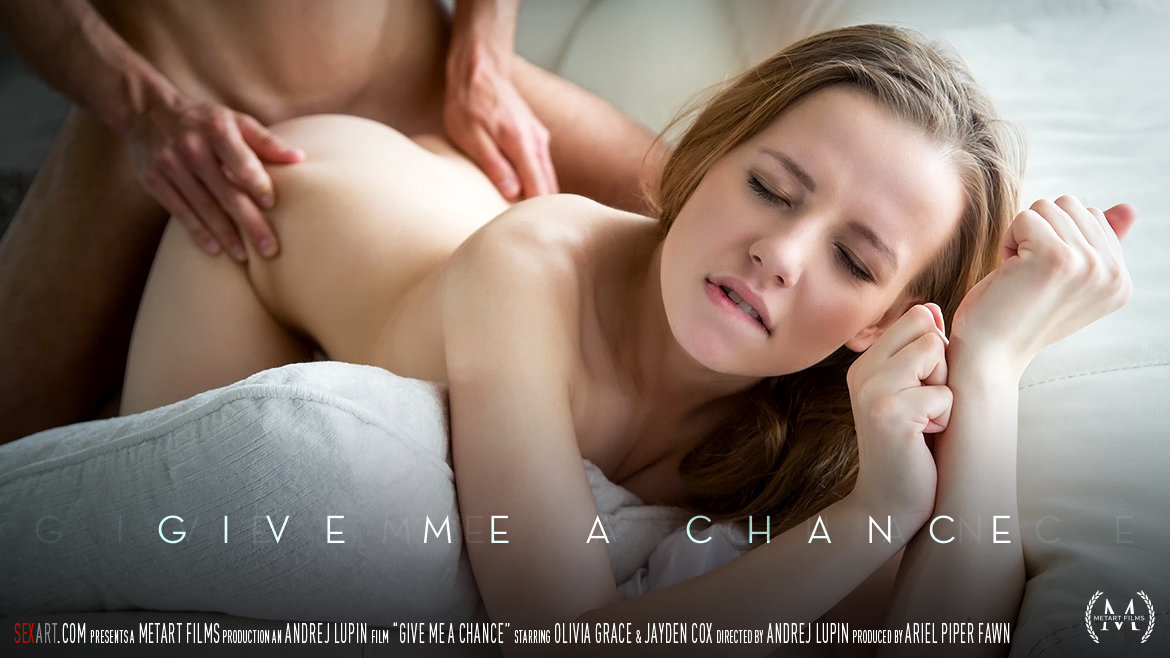 1080p Video Porn Give Me A Chance - Olivia Grace & Jayden Cox SexArt dishabille wonderful