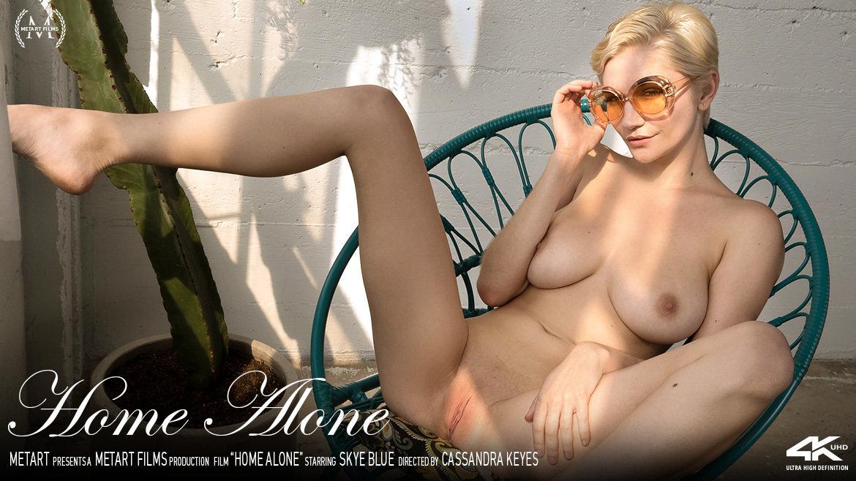 1080p Video Porn Home Alone - Skye Blue MetArt unclad bald