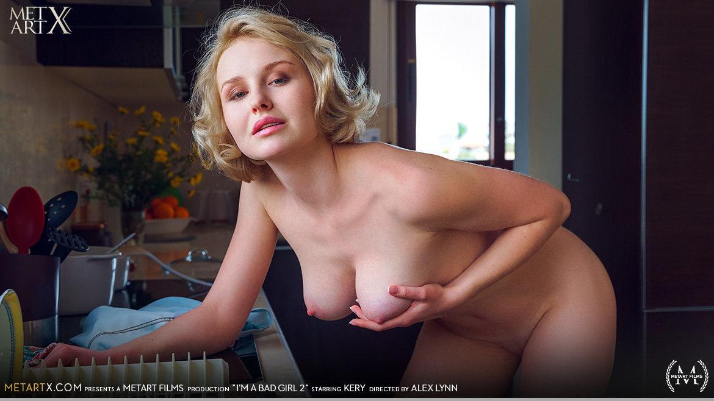 1080p Video Porn I'm A Bad Girl 2 - Kery MetArtX unattired au naturel medium natural boobs
