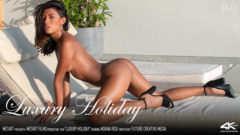 1080p Video Porn Luxury Holiday - Moana Rosi MetArt amazing disrobed nude