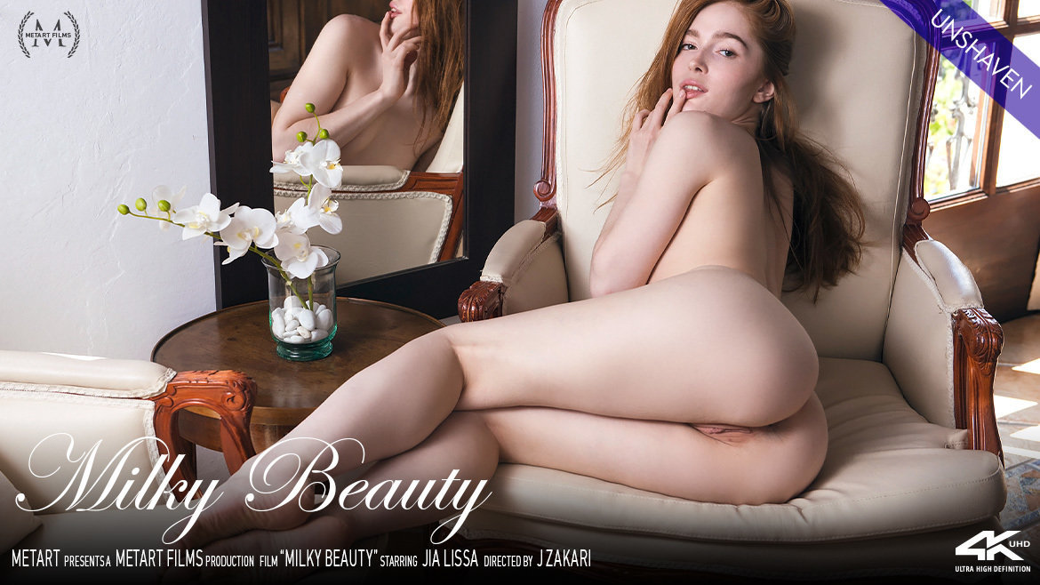 1080p Video Porn Milky Beauty - Jia Lissa MetArt skin nude small breasts