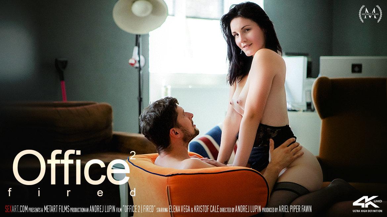 1080p Video Porn Office Episode 2 - Fired - Elena Vega & Kristof Cale SexArt uncovered unattired