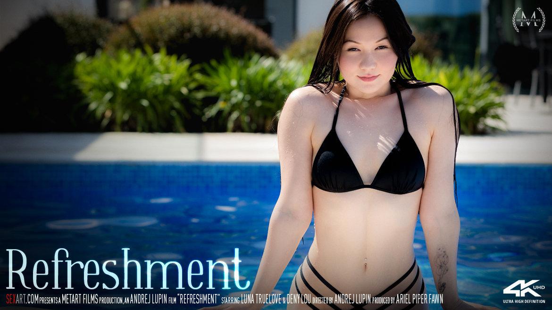 1080p Video Porn Refreshment - Luna Truelove & Deny Lou SexArt undraped