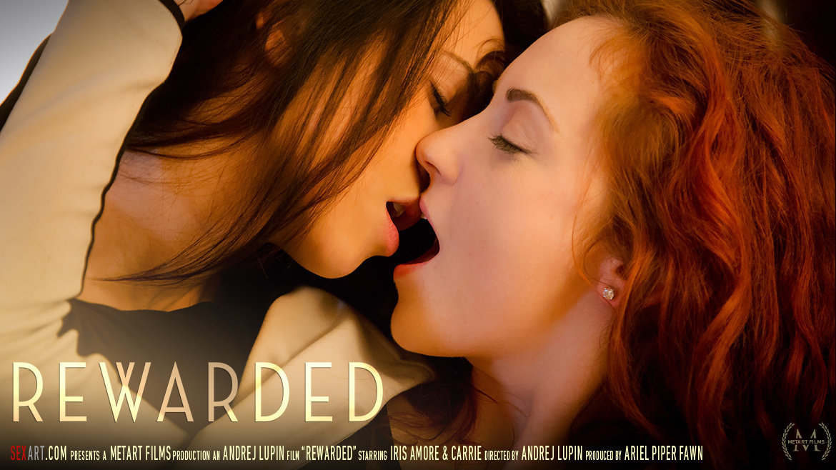 1080p Video Porn Rewarded - Carrie A & Iris Amore SexArt bare