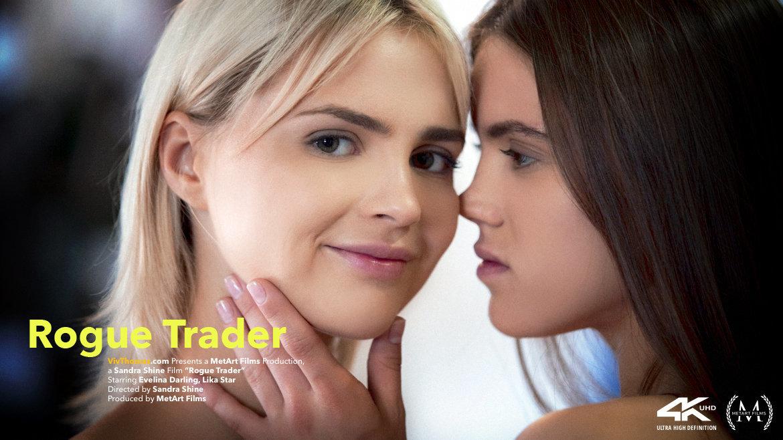 1080p Video Porn Rogue Trader - Evelina Darling & Lika Star VivThomas staggering wearing only a smile