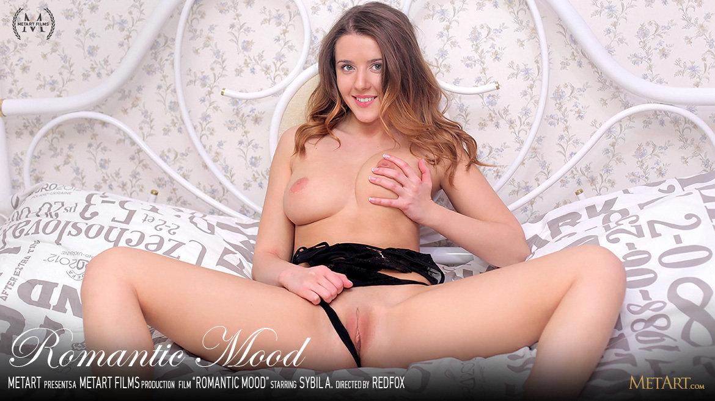 1080p Video Porn Romantic Mood - Sybil A MetArt garmentless skin medium tits