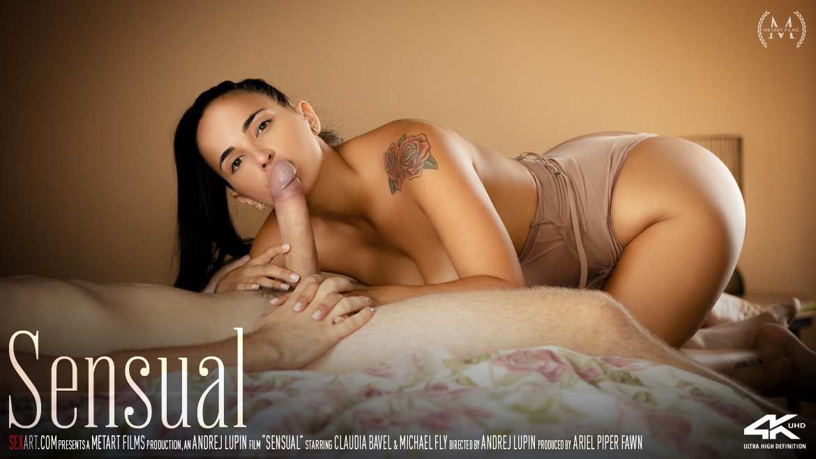 1080p Video Porn Sensual - Claudia Bavel & Michael Fly SexArt unattired naked