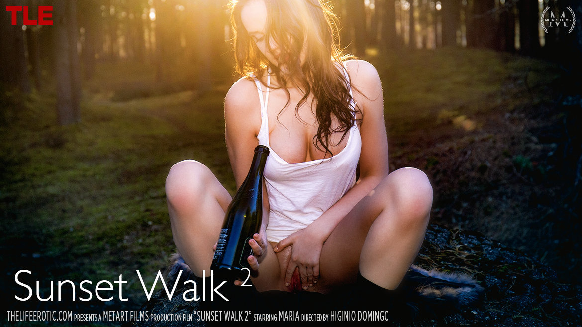 1080p Video Porn Sunset Walk 2 - Maria Z TheLifeErotic celestial uncovered medium breasts