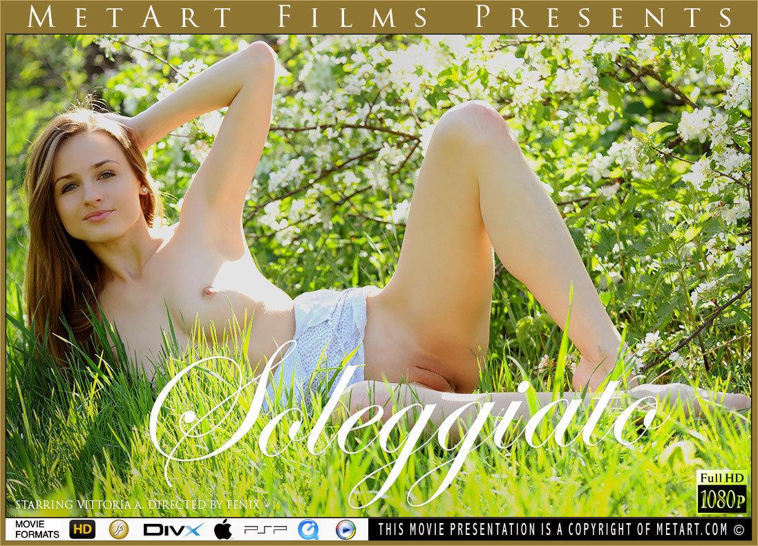 1080p Video Soleggiato - Vittoria A MetArt miraculous carnal impassioned medium natural tits