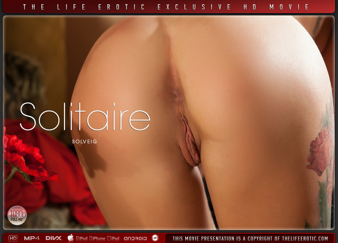 1080p Video Solitaire - Solveig TheLifeErotic marvelous hot uplifting small naturaltits