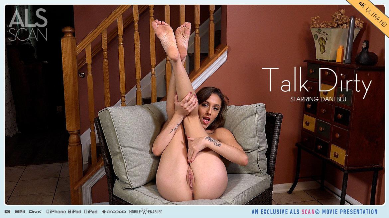1080p Video Talk Dirty - Dani Blu AlsScan in the altogether sensual