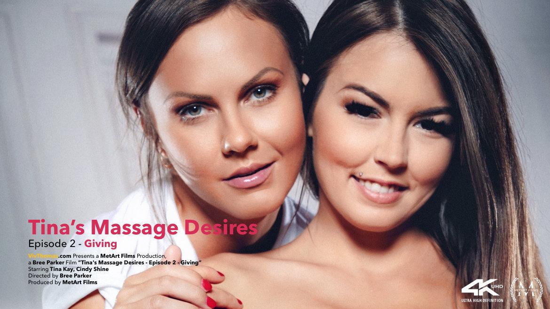 1080p Video Tina's Massage Desires Part 2: Giving - Cindy Shine & Tina Kay VivThomas empyrean titillating
